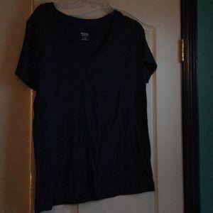 Plain navy t shirt!